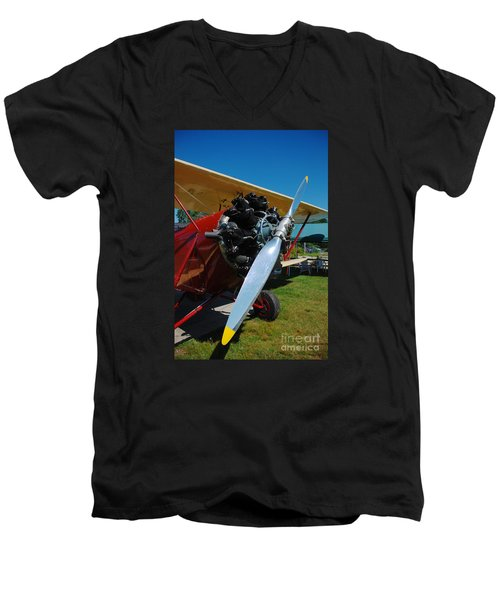 Clear Prop Men's V-Neck T-Shirt