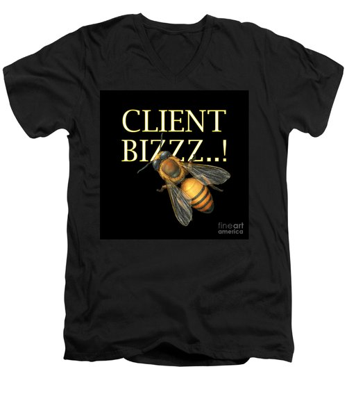 Client Buzzz Men's V-Neck T-Shirt