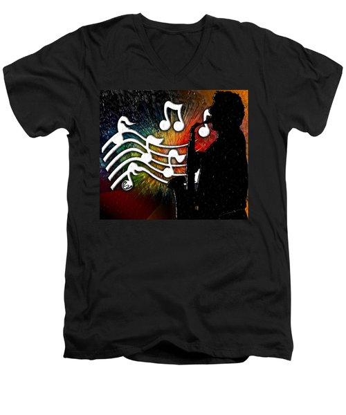 Cliff Notes Men's V-Neck T-Shirt