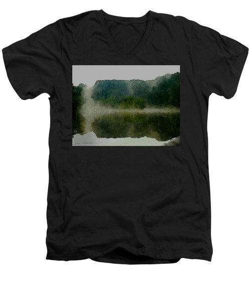 Cloaked Fluidity Men's V-Neck T-Shirt