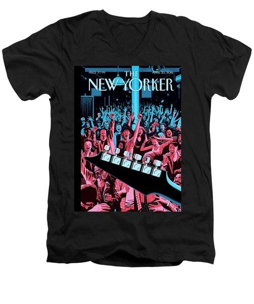 Closing Set Men's V-Neck T-Shirt