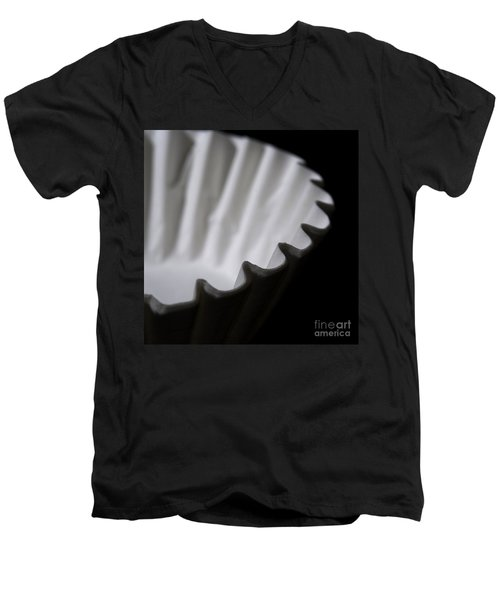 Coffee Filters Men's V-Neck T-Shirt by Art Whitton