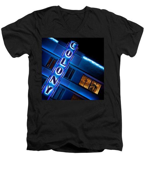 Colony Hotel 1 Men's V-Neck T-Shirt