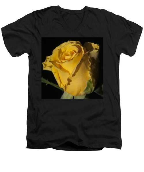 Color Of Love Men's V-Neck T-Shirt by Miguel Winterpacht