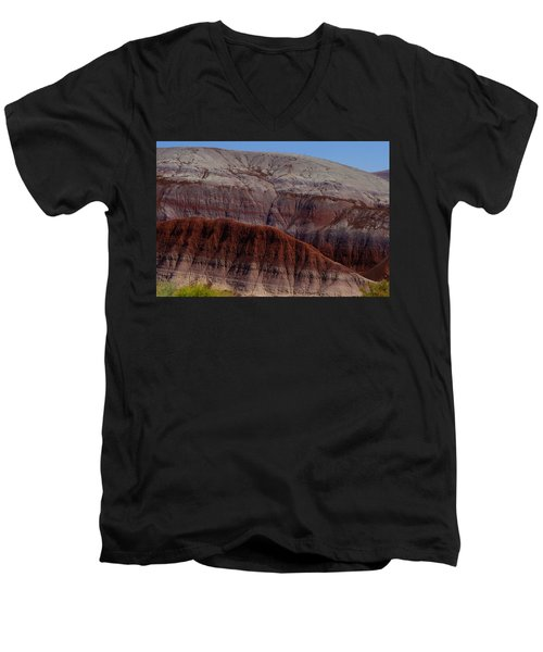 Colorful Mountain Men's V-Neck T-Shirt