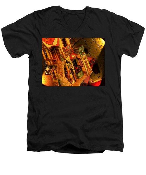 Colors Men's V-Neck T-Shirt