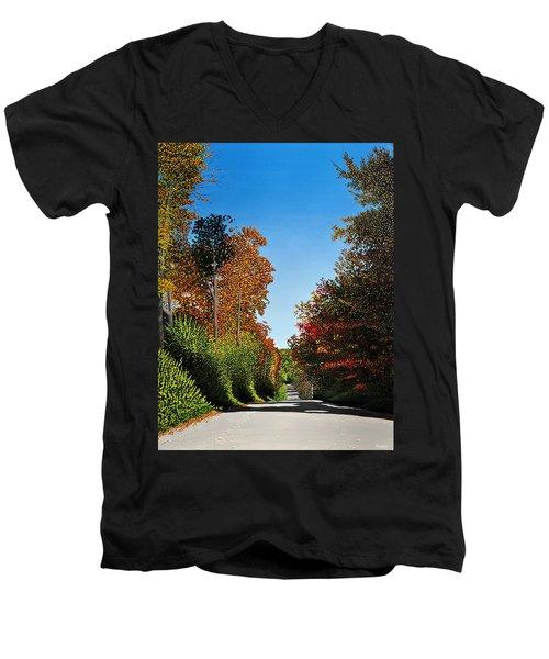 Colours Of Caledon Men's V-Neck T-Shirt