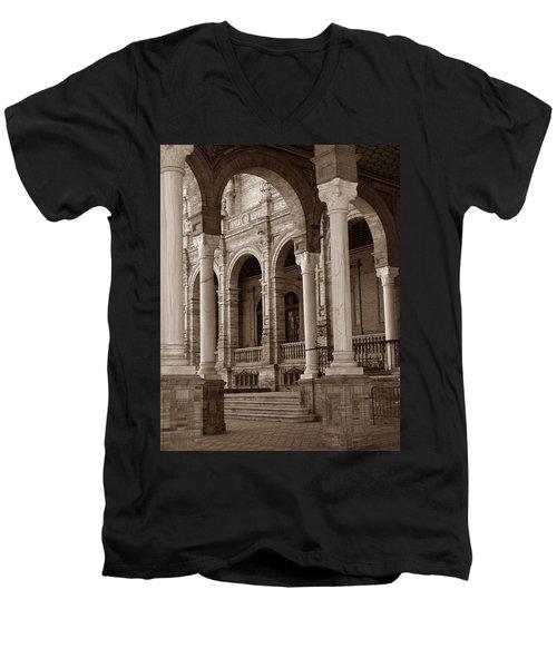 Columns And Arches Men's V-Neck T-Shirt