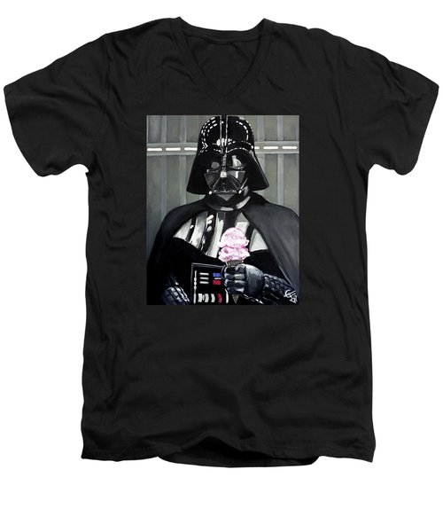 Come To The Dark Side... We Have Ice Cream. Men's V-Neck T-Shirt