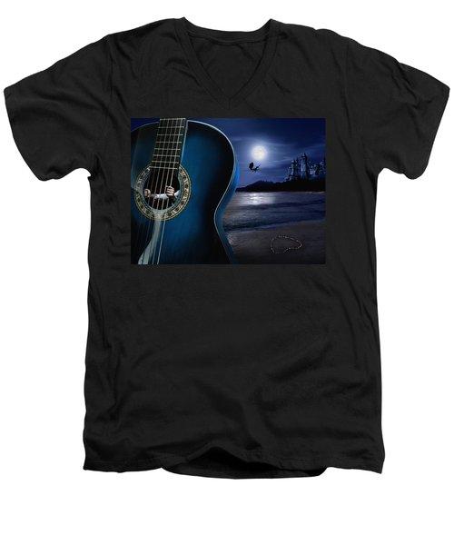 Condemned To Dream Men's V-Neck T-Shirt