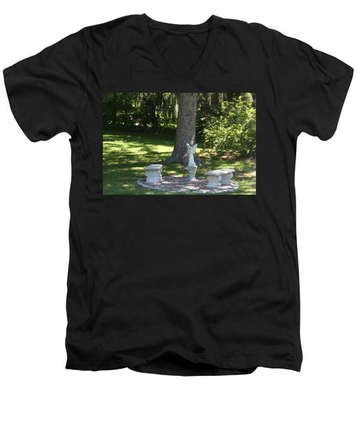 Contemplation Men's V-Neck T-Shirt
