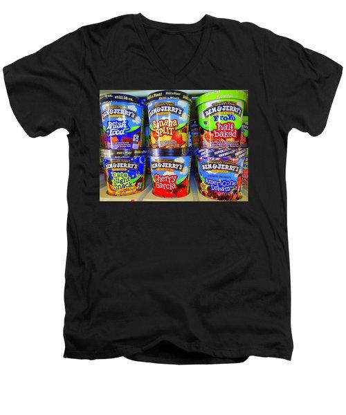 Cool Cremes Men's V-Neck T-Shirt