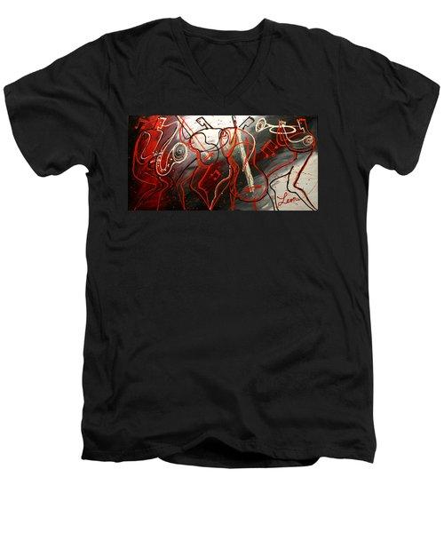 Cool Jazz 2 Men's V-Neck T-Shirt