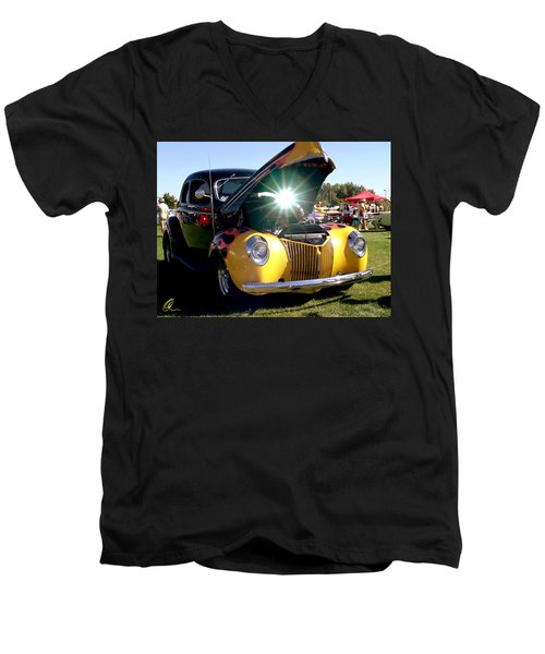 Cool Ride Men's V-Neck T-Shirt