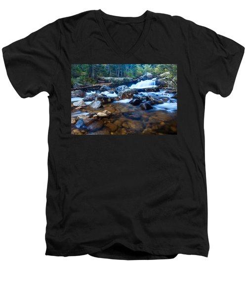 Copeland Falls 3 Men's V-Neck T-Shirt