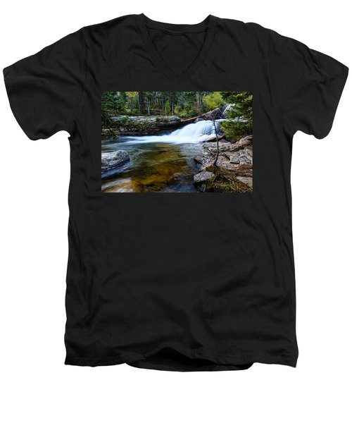 Copeland Falls Rockies Men's V-Neck T-Shirt