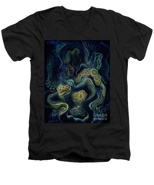 Coral Dive Men's V-Neck T-Shirt