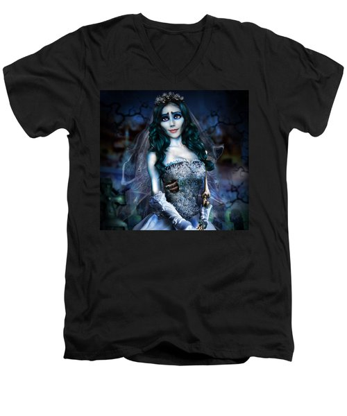 Corpse Bride Men's V-Neck T-Shirt