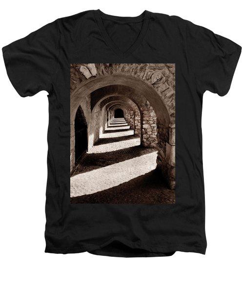 Corridors Of Stone Men's V-Neck T-Shirt