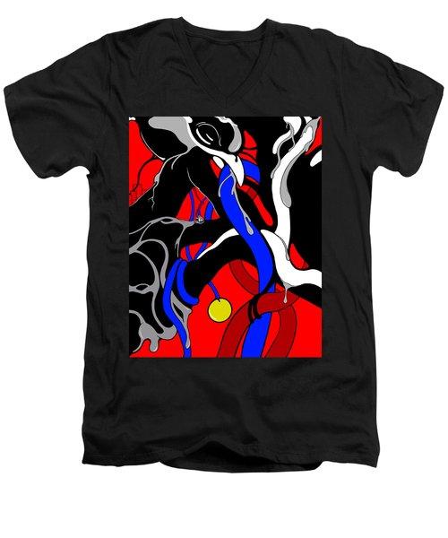 Corrosive Men's V-Neck T-Shirt