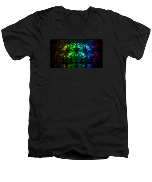 Cosmic Alien Vixens Pride Men's V-Neck T-Shirt