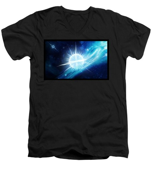 Cosmic Icestream Men's V-Neck T-Shirt