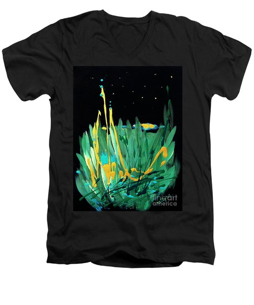 Cosmic Island Men's V-Neck T-Shirt