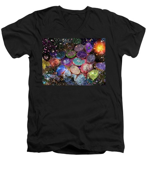 Cosmic Ovule Men's V-Neck T-Shirt