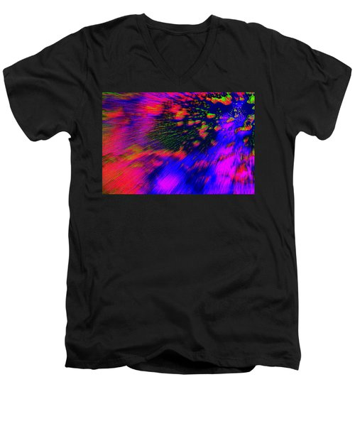 Cosmic Series 010 Men's V-Neck T-Shirt