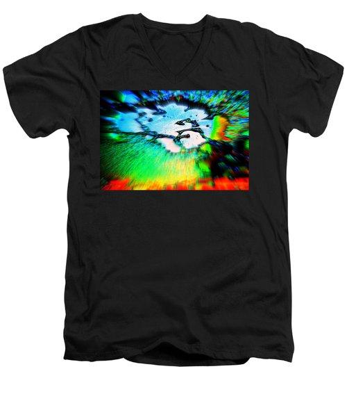 Cosmic Series 012 Men's V-Neck T-Shirt