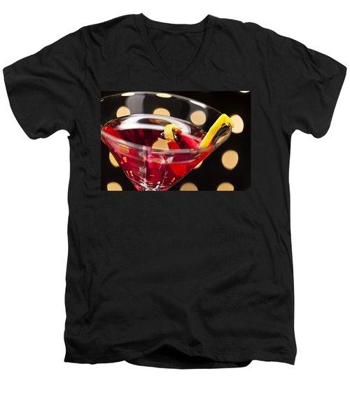 Cosmopolitan On The Dance Floor Men's V-Neck T-Shirt
