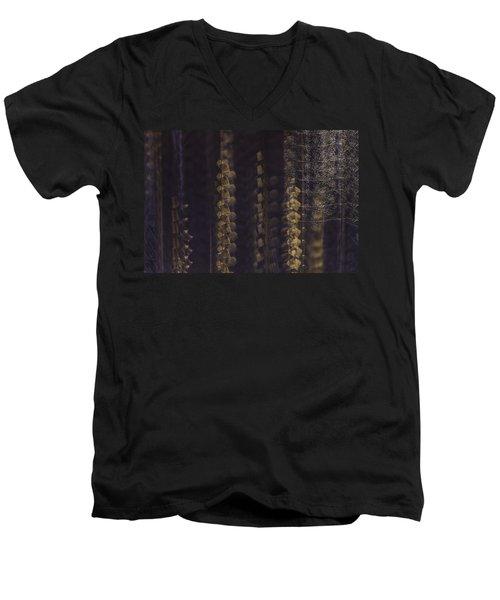 Cottonwoods In Winter Men's V-Neck T-Shirt