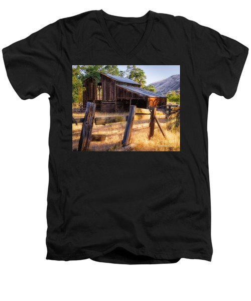 Country In The Foothills Men's V-Neck T-Shirt