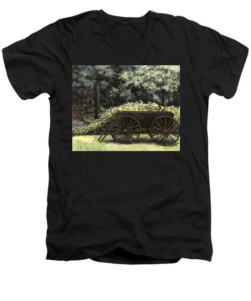 Country Wagon Men's V-Neck T-Shirt