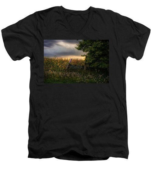 Countryside  Men's V-Neck T-Shirt
