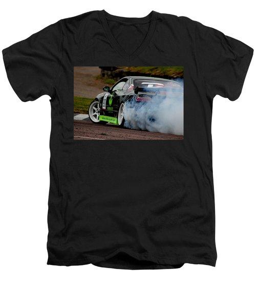 Creating Smoke Men's V-Neck T-Shirt