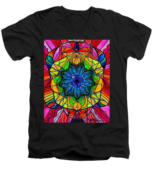 Creativity Men's V-Neck T-Shirt