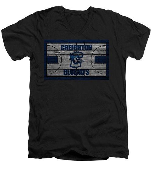 Creighton Bluejays Men's V-Neck T-Shirt
