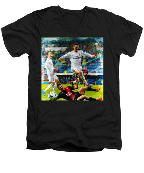 Cristiano Ronaldo Men's V-Neck T-Shirt