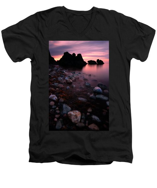 Cromarty Sunrise Men's V-Neck T-Shirt