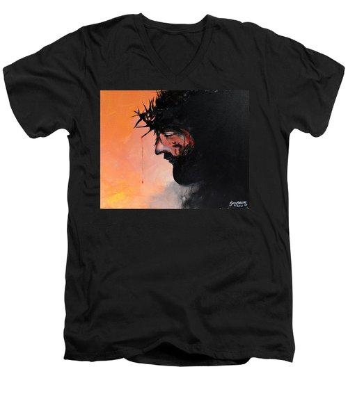 Blood Of The Redeemer Men's V-Neck T-Shirt