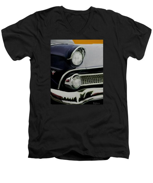 Crown Vic Men's V-Neck T-Shirt