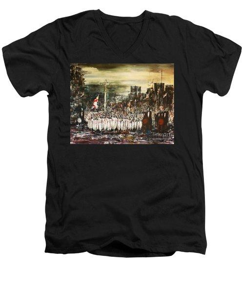 Crusade Men's V-Neck T-Shirt