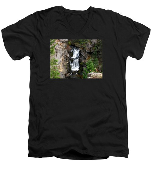 Crystal Falls Men's V-Neck T-Shirt