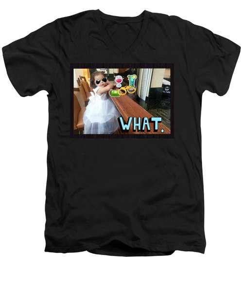 Cscr 6 Men's V-Neck T-Shirt