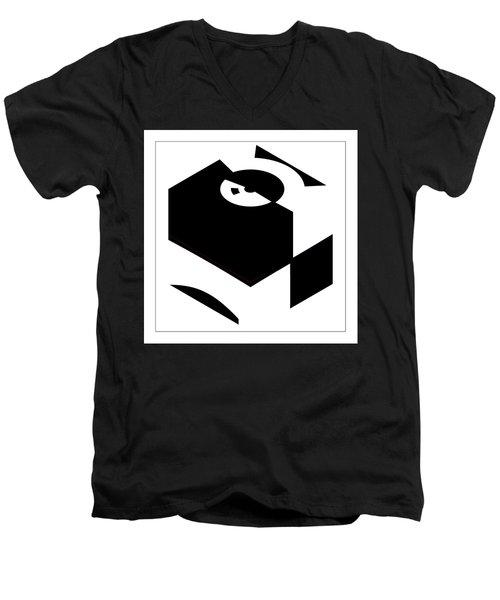 Cube Men's V-Neck T-Shirt