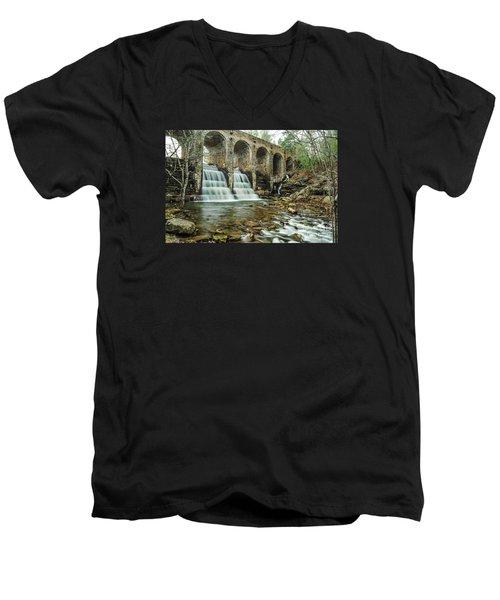 Cumberland Waterfall Men's V-Neck T-Shirt