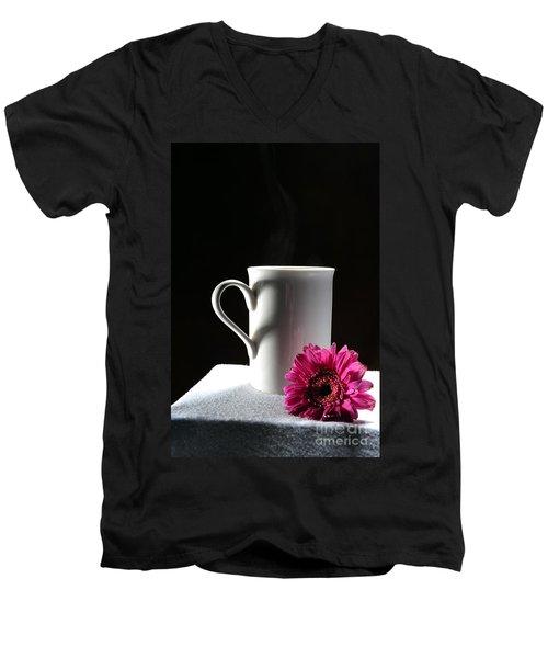 Cup Of Love Men's V-Neck T-Shirt