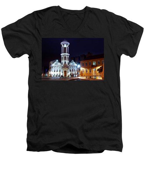 Curitiba - Centro Historico Men's V-Neck T-Shirt