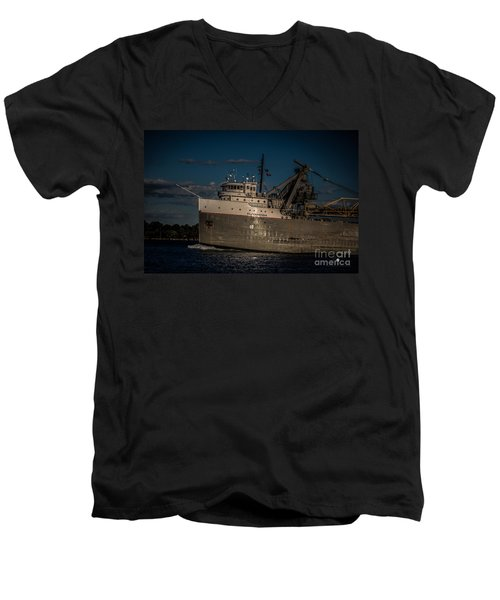 Cuyahoga Men's V-Neck T-Shirt
